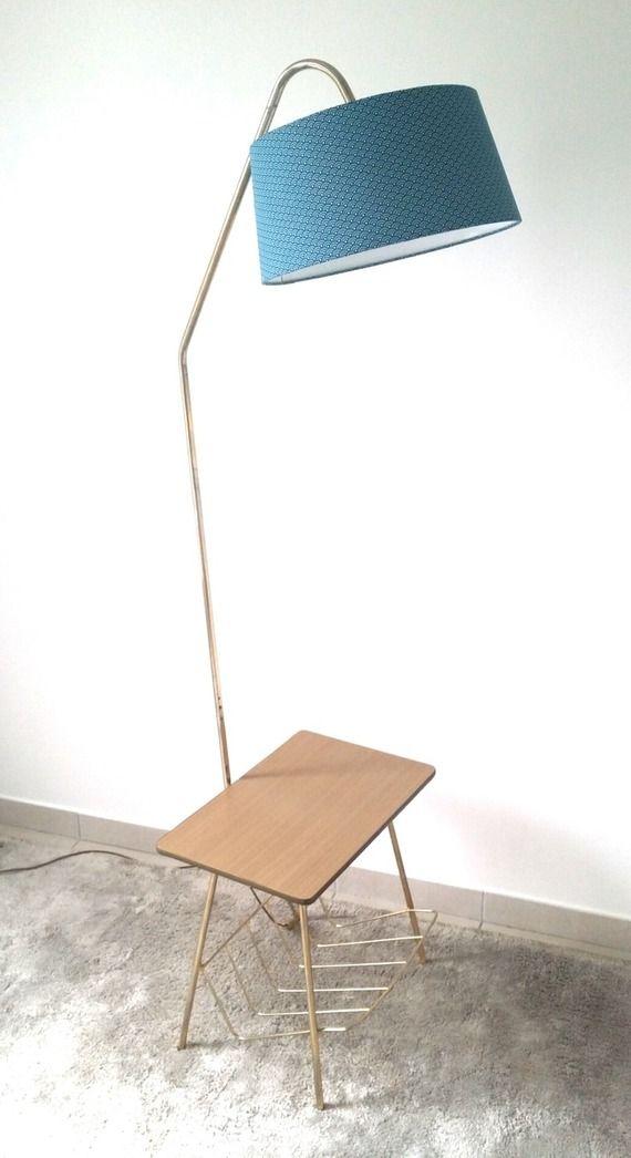 lampadaire liseuse vintage des annees