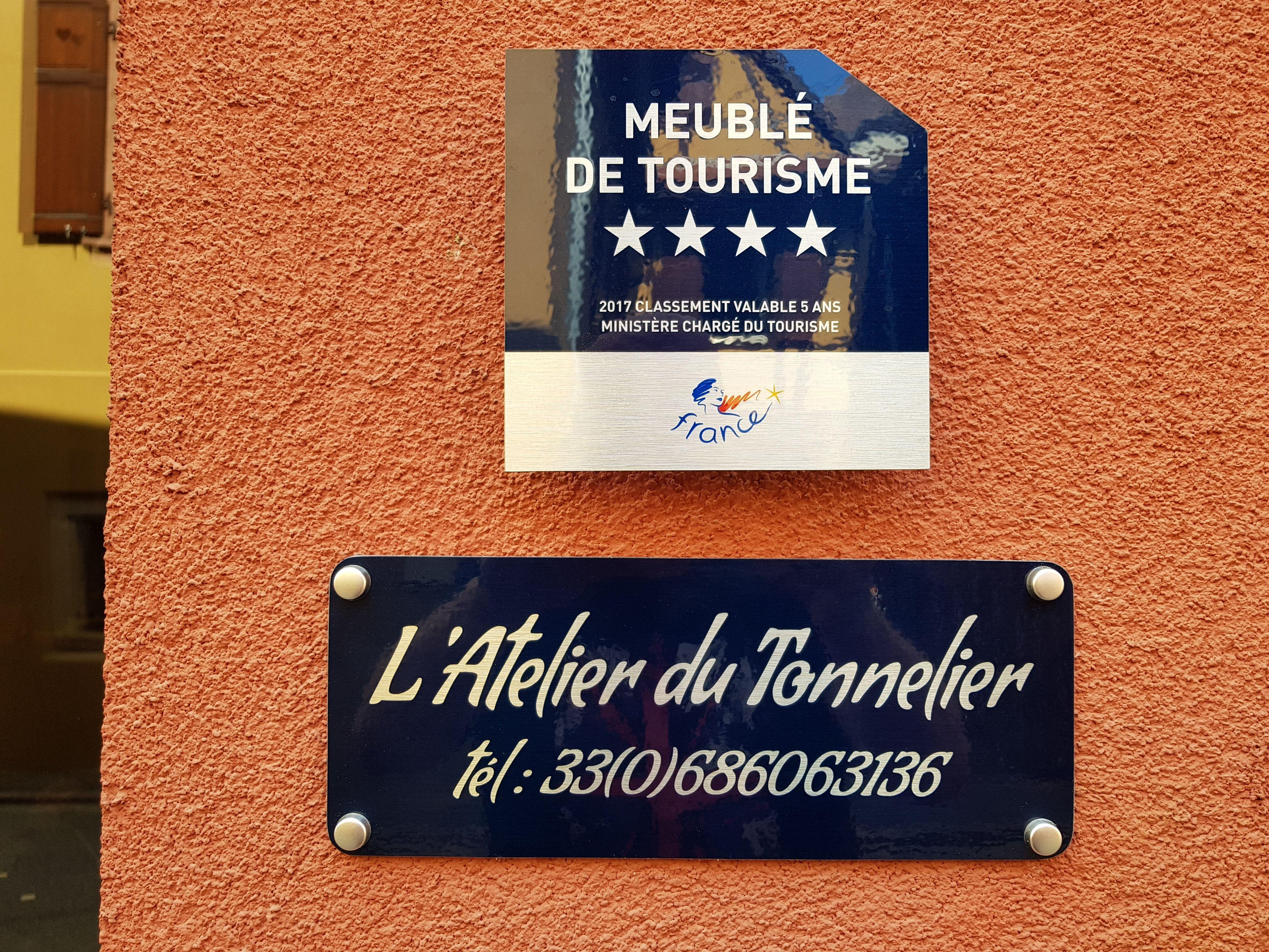 Panonceau De Classement Meuble De Tourisme Et Plaque De Maison En Aluminium Dibond En Fonction De Votre Famille D Hebergement Choisissez Votr Tourisme Meuble