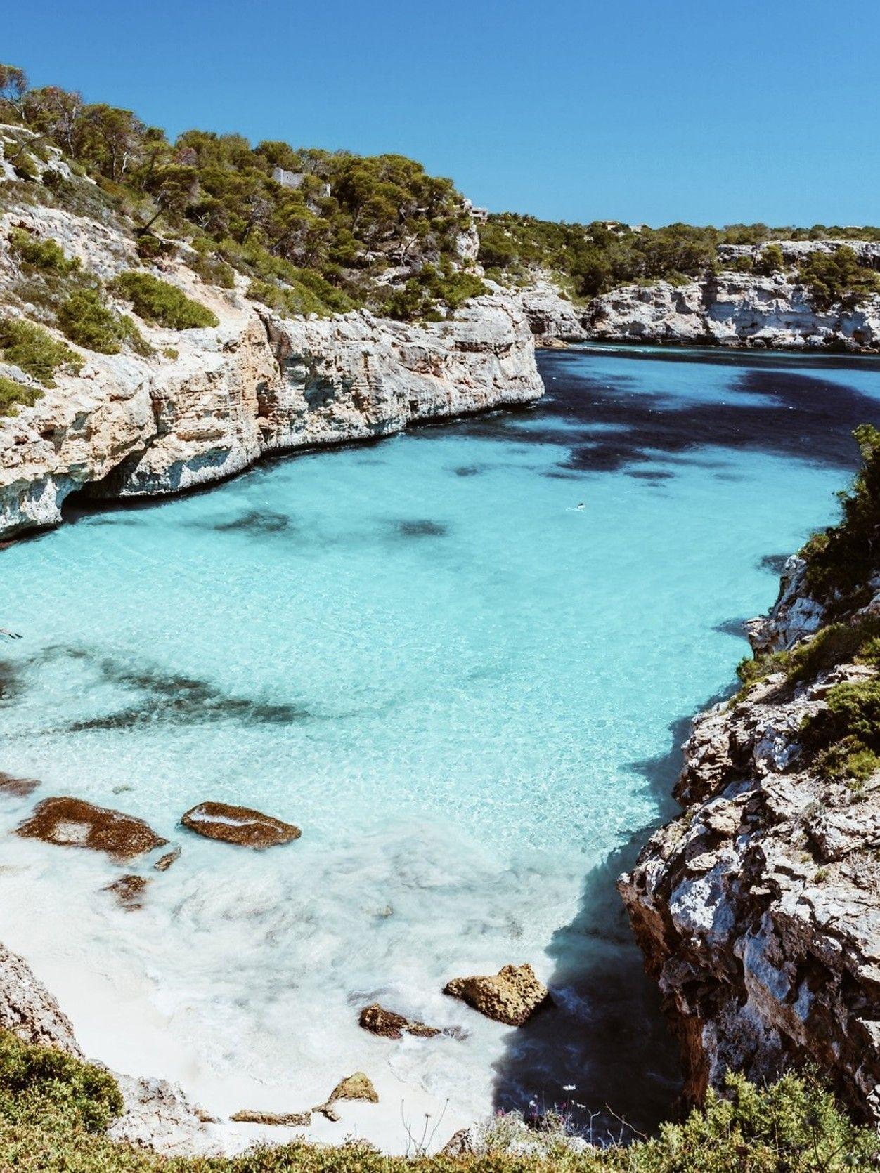 Las Calas Más Bonitas De Mallorca Lugares Para Visitar Viajes A Mallorca Viajar En Pareja