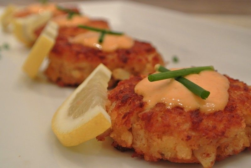 Crab cakes try with canned tuna or salmon cooking
