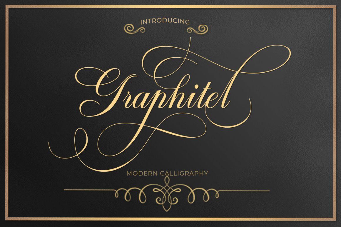 Graphitel (Font) by typehill (Dengan gambar) Desain