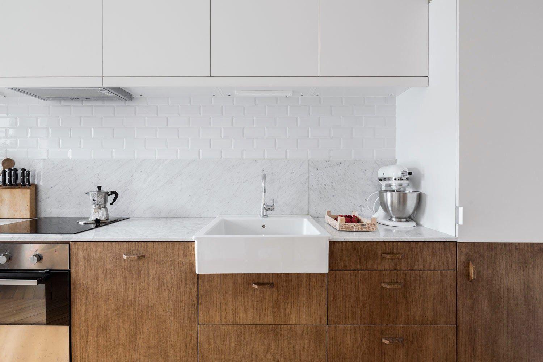 Blog wnętrzarski - design, nowoczesne projekty wnętrz: Mieszkanie paryskie - stylowe wnętrze