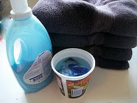 Homemade Mamas: Reusable Dryer Sheets