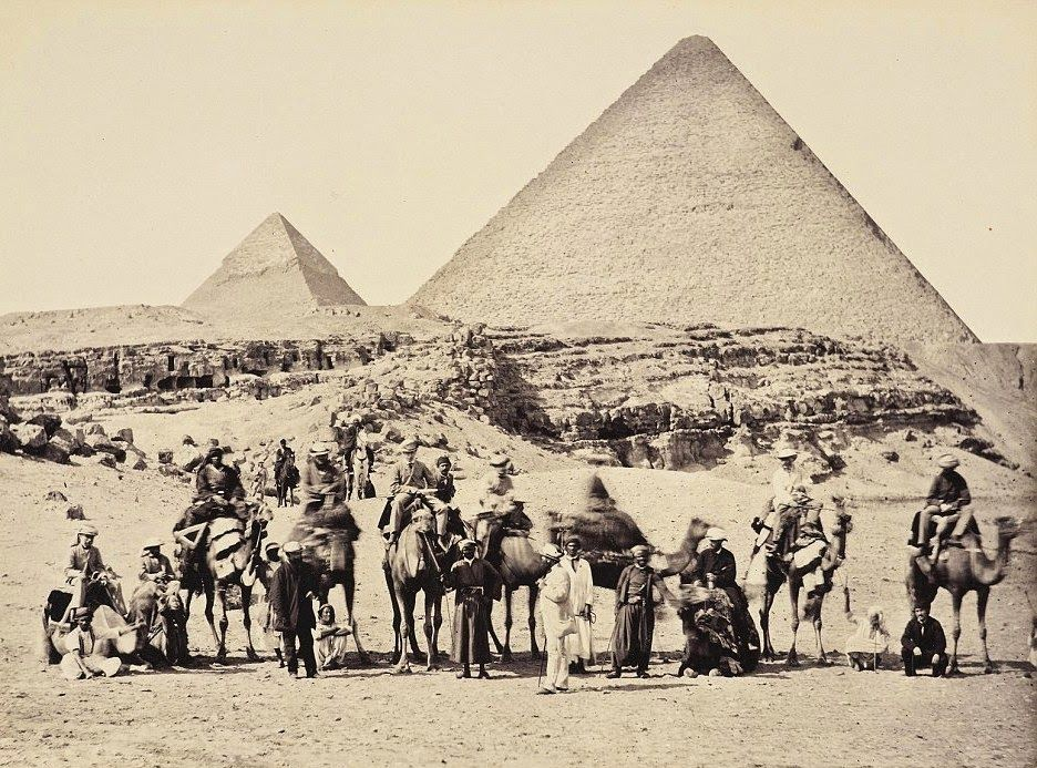 H.R.H. Prince Albert of Wales, later King Edward VII of Great Britain, in Egypt