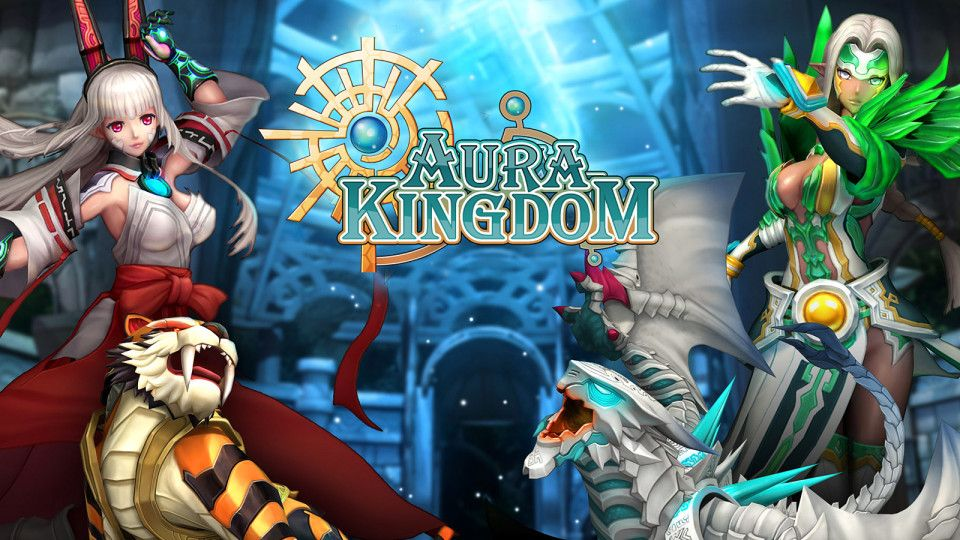Aura Kingdom Ist Ein Free To Play Anime MMORPG Auf Deutsch Erschienen 2014 Bei Publisher Aeria Games AuraKingdom AeriaGames