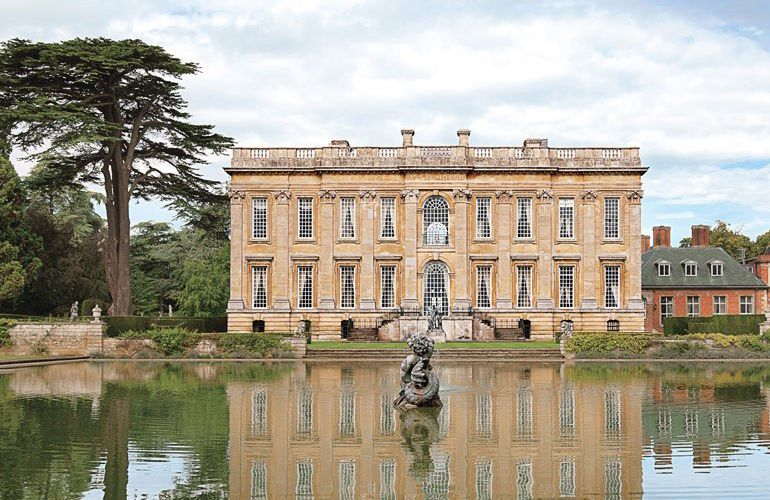The English Baroque Reborn Easton Neston English Manor Houses English Country House English Countryside