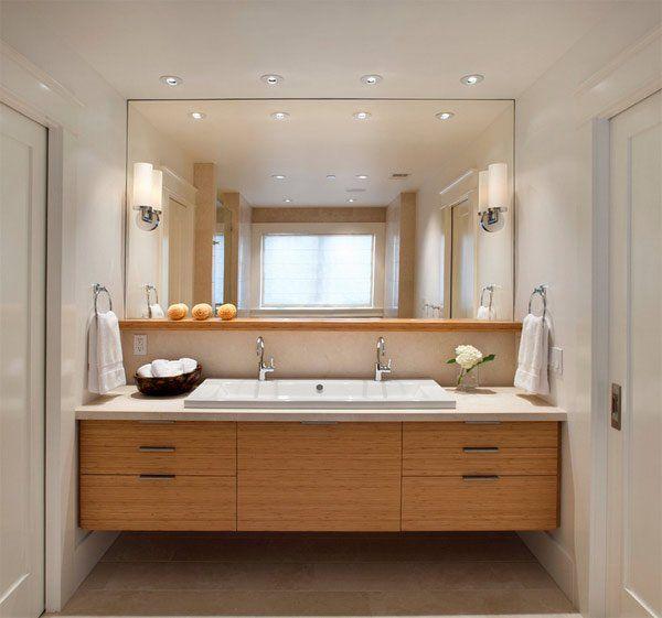 20 Classy And Functional Double Bathroom Vanities Floating