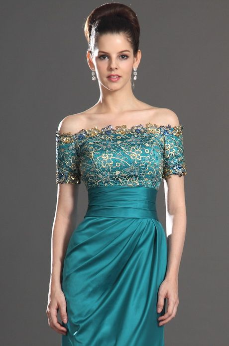Turquoise Cocktail Dresses Mother's