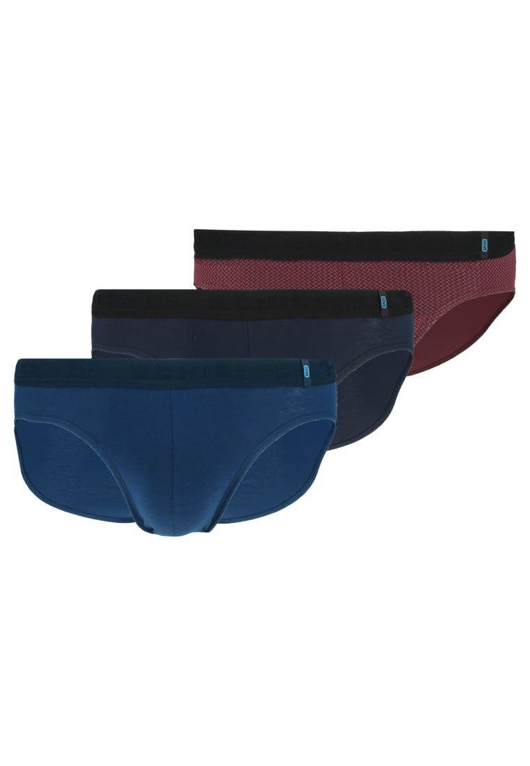 Schiesser RIO 3 PACK - Slip - dark blue qSt9ZTY