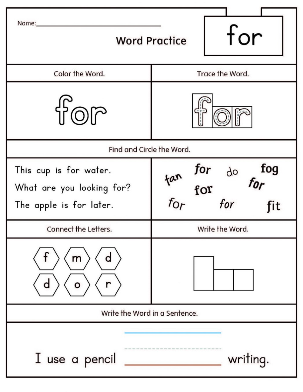 Free Literacy Worksheets K5 Worksheets Sight Words Kindergarten Kindergarten Worksheets Sight Words Tricky Words [ 1294 x 1000 Pixel ]