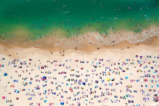 Gray Malin Coogee Beach on Forbes.com gift guide.