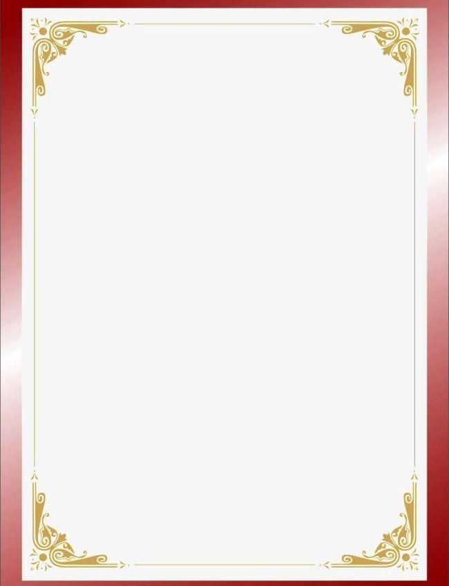 Certificate designs. Border web page frame