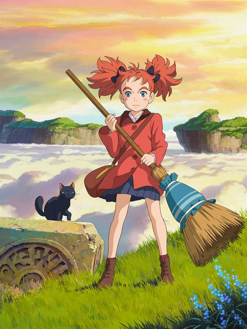 Mary et la fleur de la sorcière Animated witch, Anime