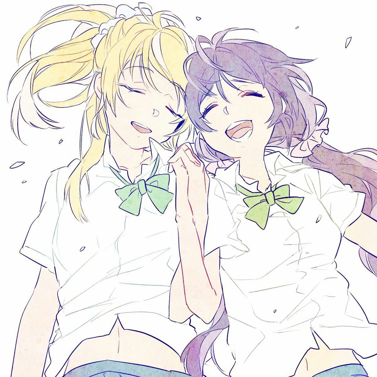Pin by Катюша on Love Live!!!!! (With images) Girls in