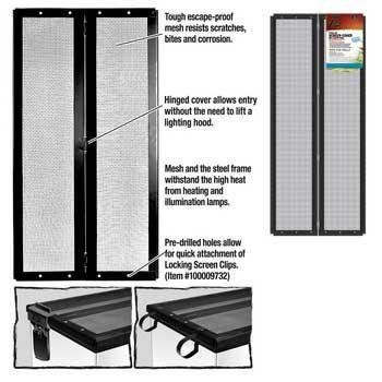 R-Zilla Hinge Screen Cover 30 X 12 Metal Hinge Screen Cover Black 30 X 12.  #Zilla #Pet_Products