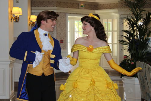 Prince Adam and Belle!
