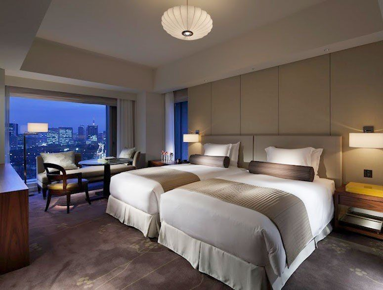 tokyo hotel guests room design with chick lighting luxury hotel guest room design home design - Bedroom Hotel Design