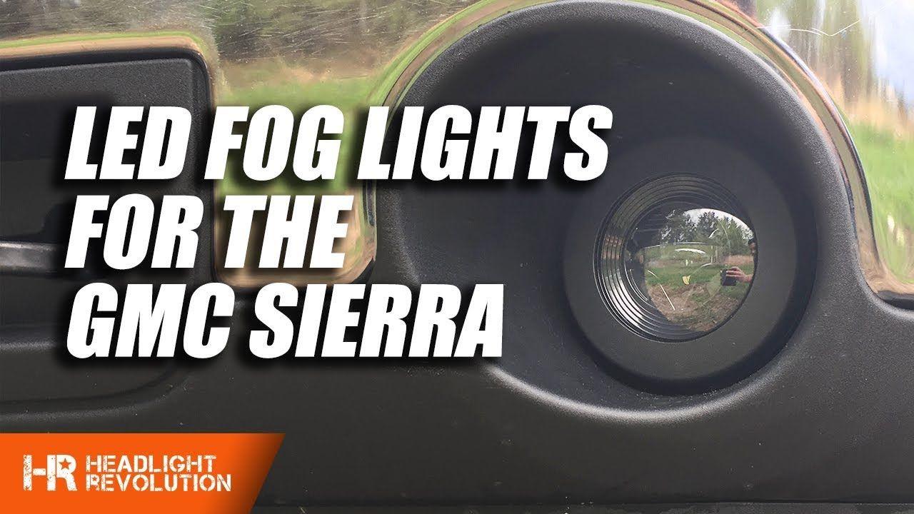2012 Gmc Sierra Led Fog Lights By Morimoto Install Led Fog Lights Gmc Sierra Gmc