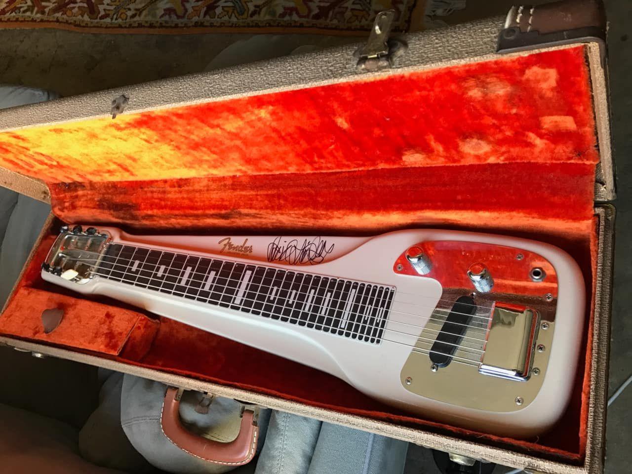 Fender Fullerton California Lap Steel Guitar From 1956 Serial