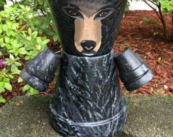 Deco Object Monkey Gorilla Side XL Black - KARE Design in