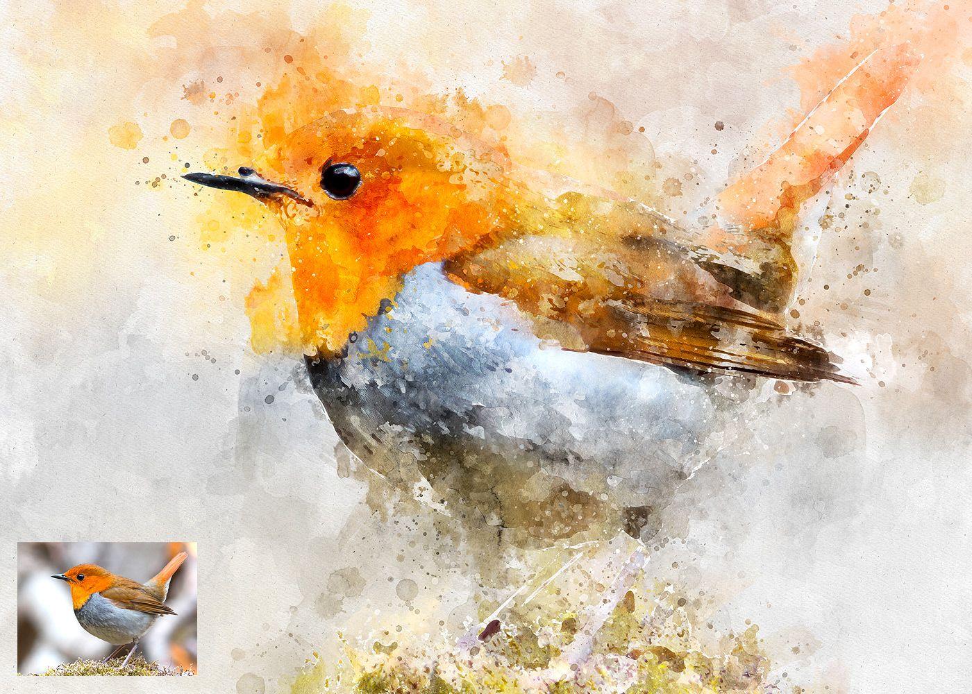 19 Realistic Watercolor Photoshop Template Mock Ups Tutorial