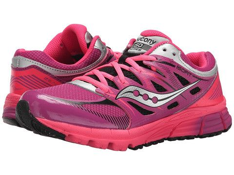 cef8c39e Girls Zealot Lace Up Athletic Shoe by Saucony for Kids and Youths in ...