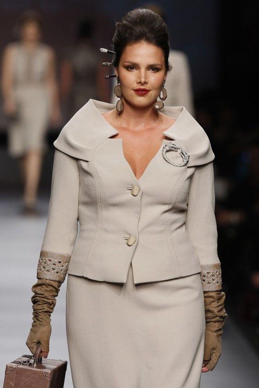 super popular e5a0b 3ac56 Moda Curvy: A moda que se ajusta às nossas curvas! | Vintage ...