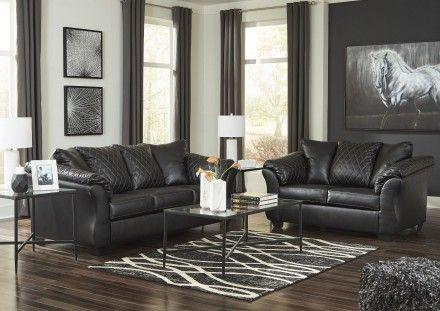 Best Betrillo Black Living Room Set Leather Living Room Set Living Room Sofa Couch Loveseat 400 x 300