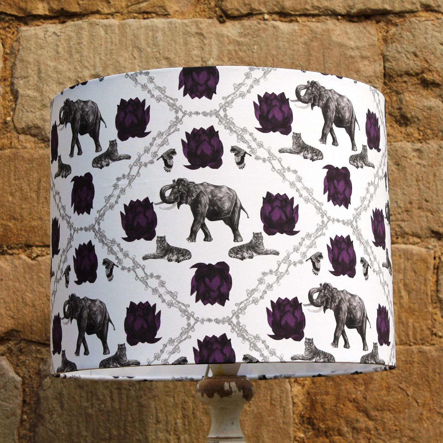 Collaboration With Hill House Design Lancashire Custom Made Lampshades Featuring My Surface