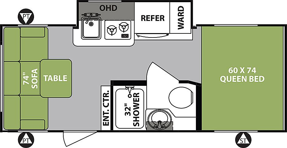 R Pod West Coast Rp 189 Travel Trailers By Forest River Rv R Pod