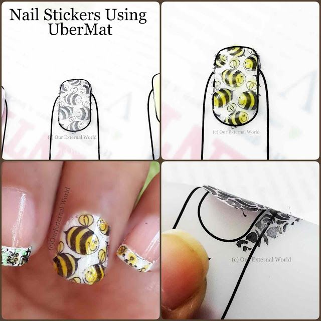 Uber Mat by Uber Chic Beauty - Create Your Own Nail Decals/Stickers ...