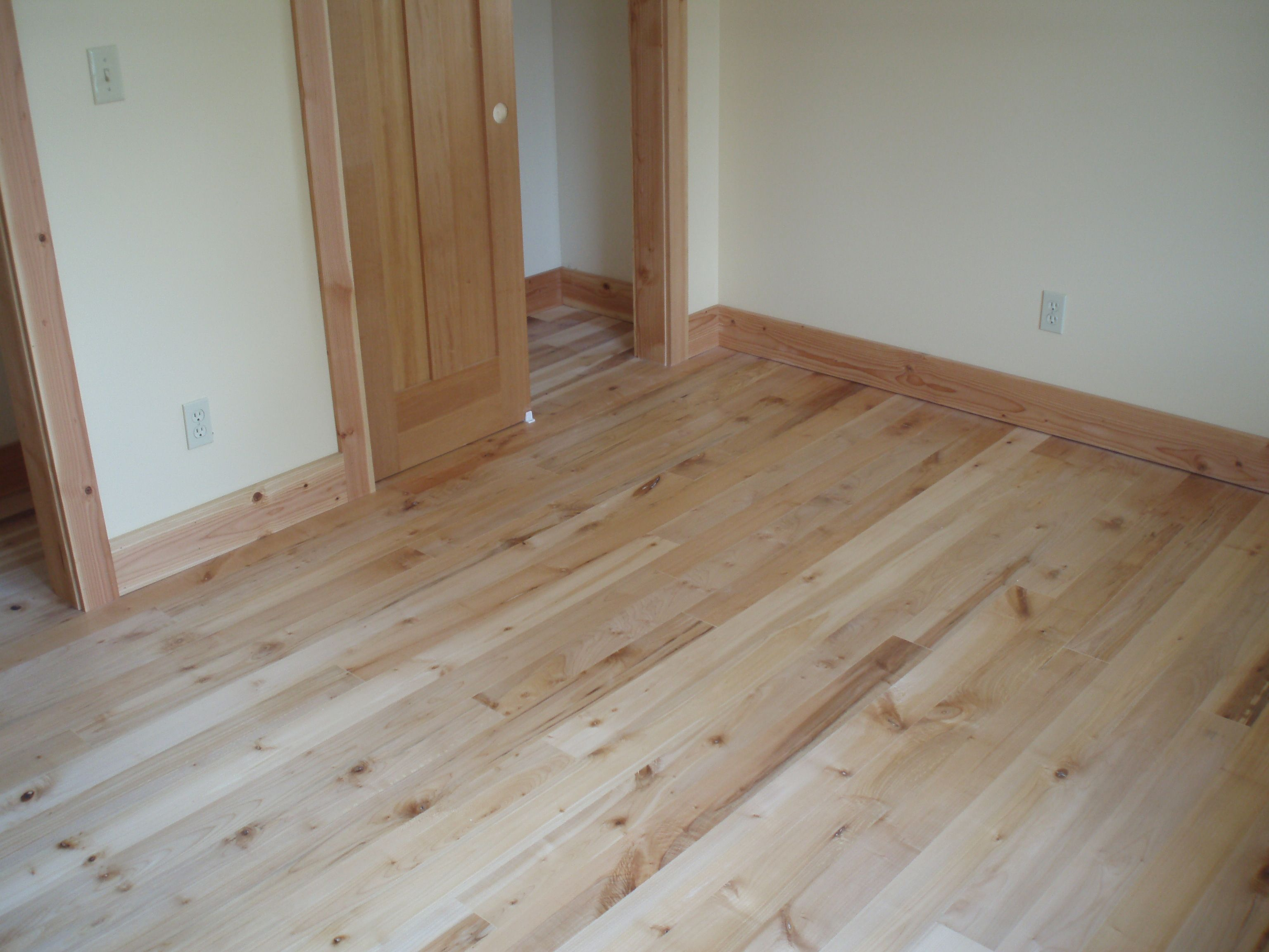Character Grade Oregon Leaf Maple Flooring With Osmo Polyx Oil Finish Notice The Baseboards Match Floor Domino Hardwood Floors Inc