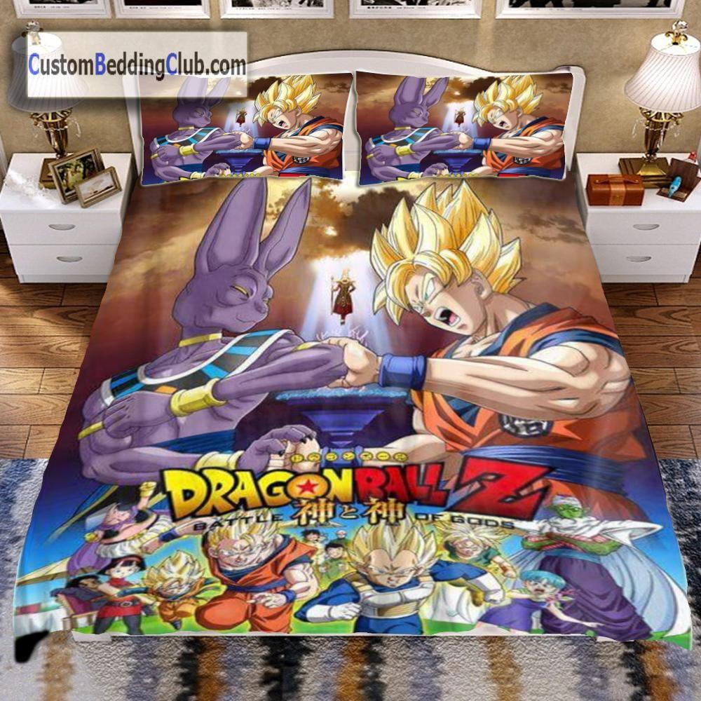 Dragon ball z bed set sheets blanket bed sets dragon for Dragon ball z bedroom