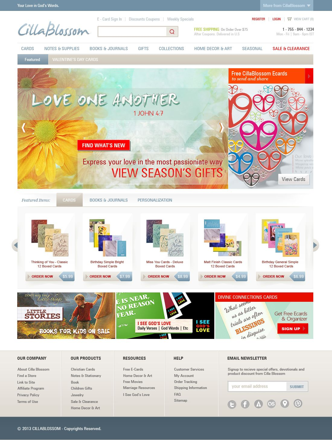 E Commerce Website Design Website Design Cards Sign Journal Gift