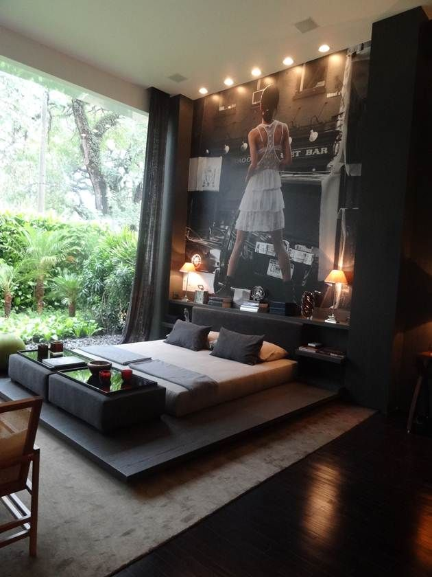 Modern Interior Design Bedroom Bachelor Pad Interiordesign