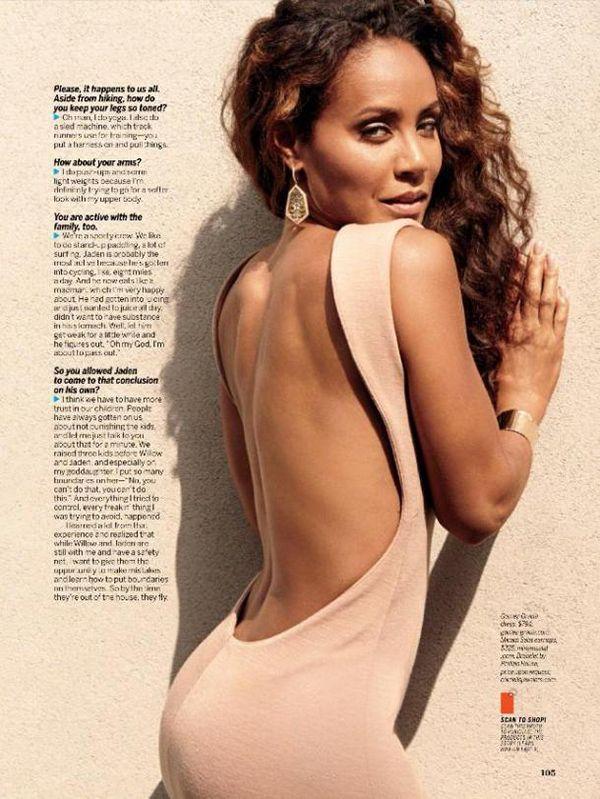 #pinkettsmith #magazine #fitness #regimen #shares #health #copes #aging #jada #with #how #she #inJad...