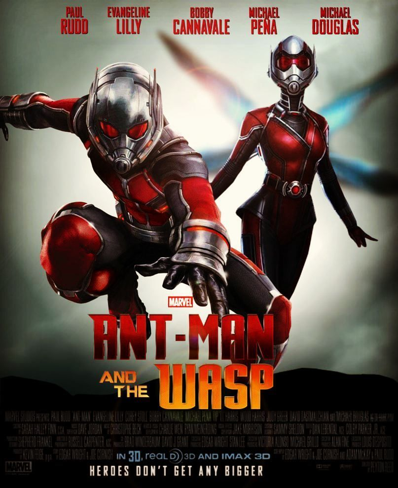 Antman Wasp Marvel Paulrudd Evangelinelilly Ant Man The