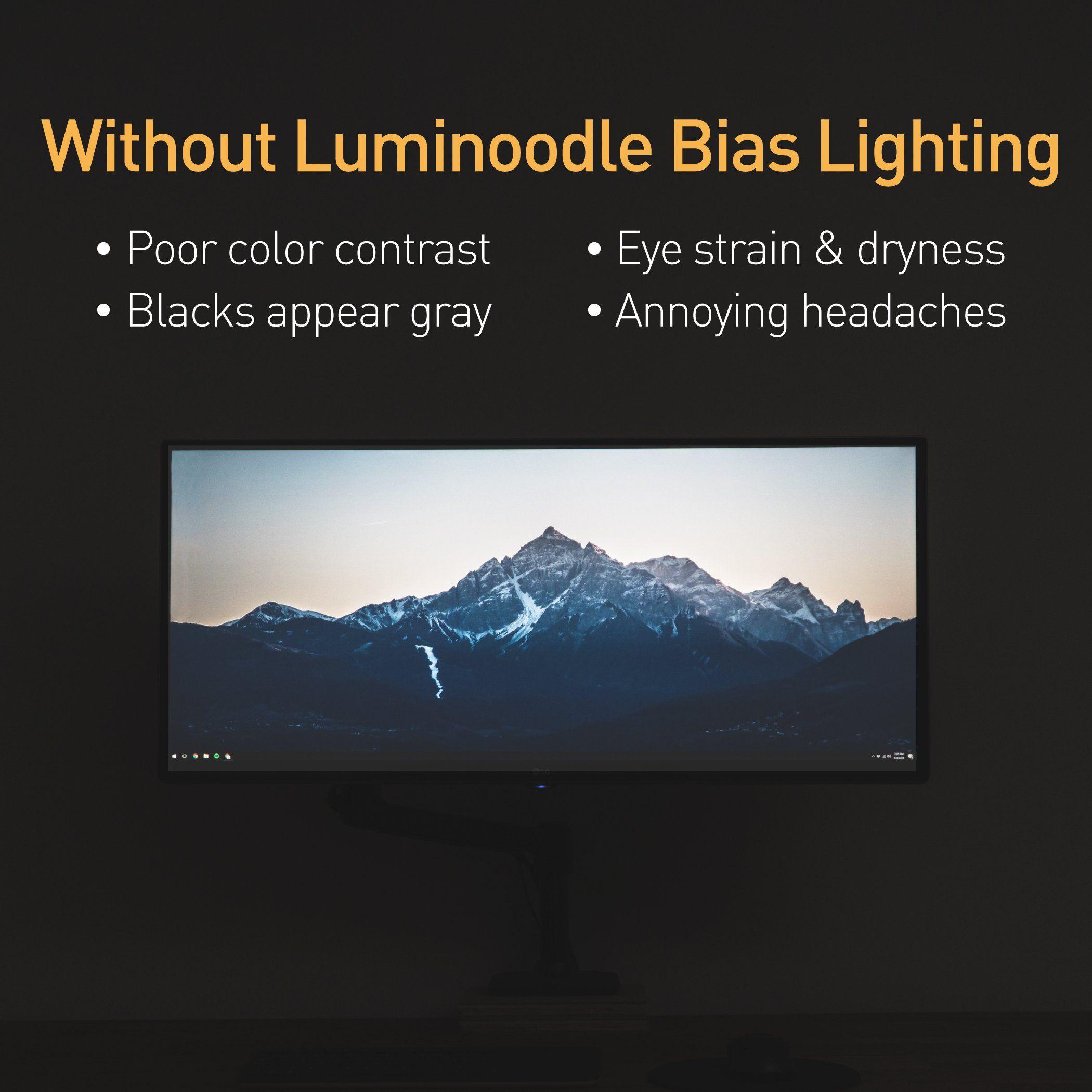 usb led light strip bias lighting