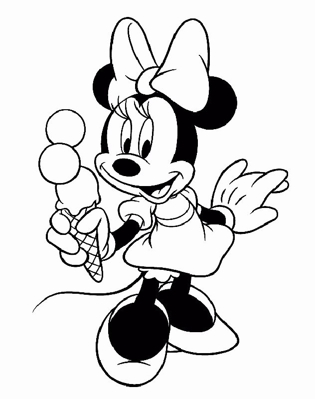 Minnie Mouse Coloring Book Lovely Minnie Mouse Face ...