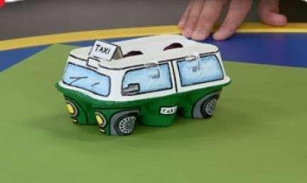 Lavoretti Di Natale Art Attack.Lavoretti Di Art Attack Facili Taxi In Cartone Progetti