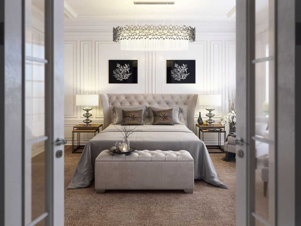 Classic Modern Bedroom | Modern classic bedroom, Luxurious ...