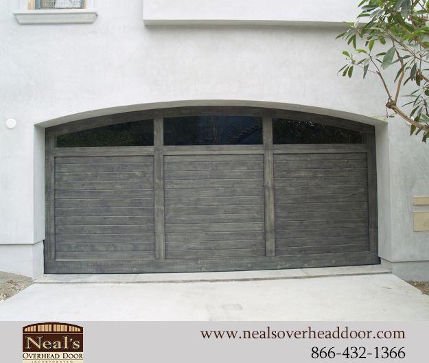 Reclaimed Vintage Wood Custom Garage Doors, Designs And Installation    Southern California, Orange County