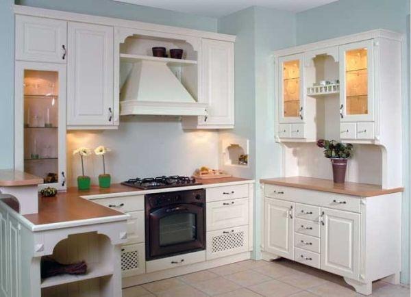 Cocina rustica en blanco | Que casa más mona! | Pinterest | Rusticas ...