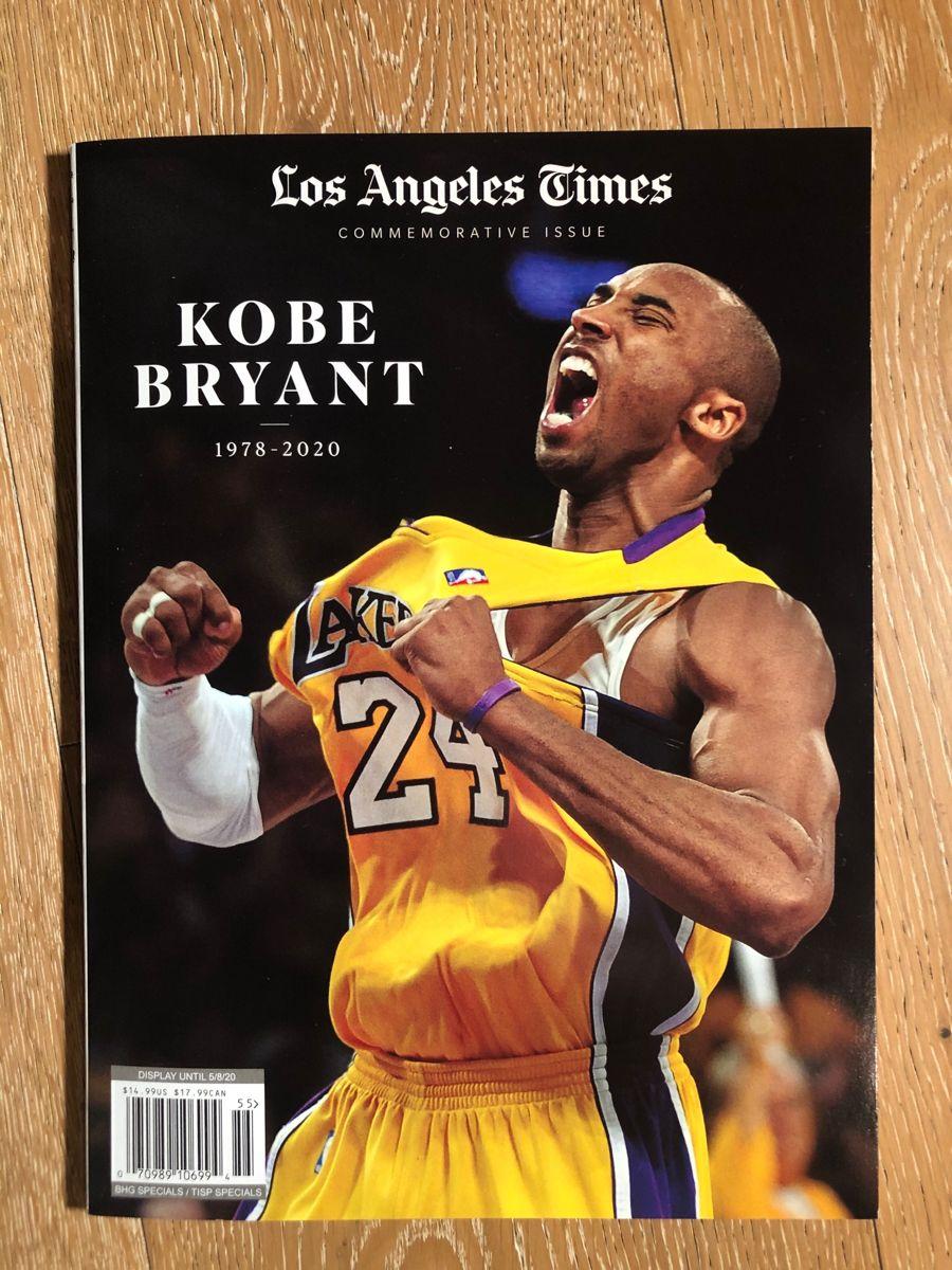 Kobe Bryant La Times In 2020 Kobe Bryant Kobe Lakers Kobe