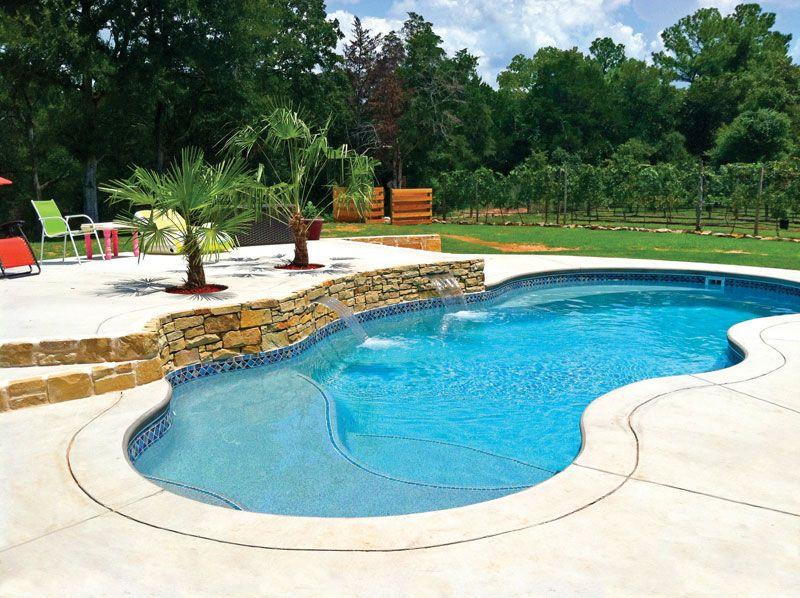 Fiji Freeform Inground Fiberglass Pool 800 598 Pools Pinterest Backyard Swimming