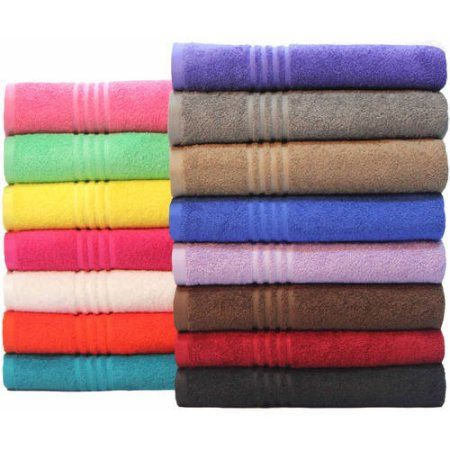 Bath Towels At Walmart Prepossessing Mainstays Essential True Colors Bath Towel Collection  We Will Need Design Inspiration