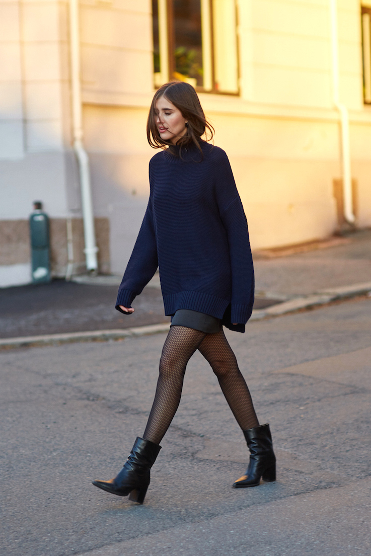 This Fall Look Is Perfect for a Night Out — Darja Barannik Style #casualskirts