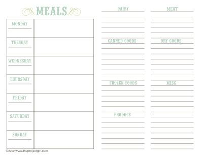Daily Agenda Book With Free Printables  Imprimibles Para