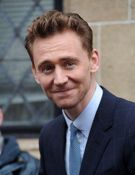 Tom Hiddleston at ITV Studios for This Morning, April 2013. Via Torrilla.tumblr.com