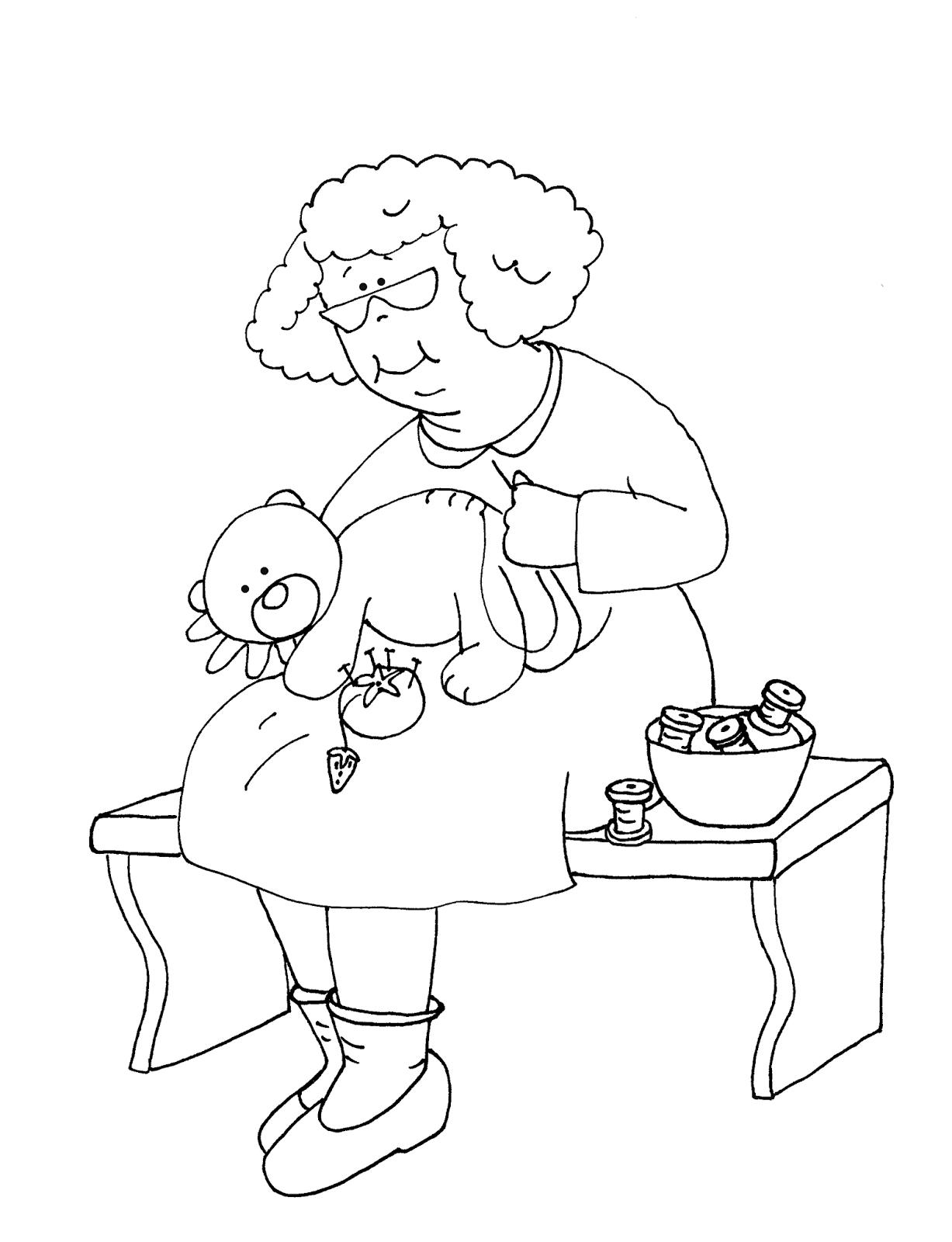 Картинки карандашом на день рождения бабушке